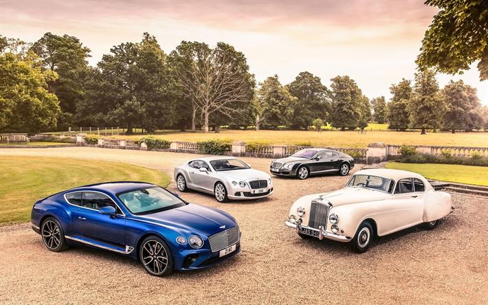 Download Wallpapers Evolution Bentley Continental GT 2018 Cars