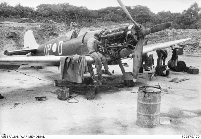 Kiriwina Trobriand Islands Papua 11 September 1943 No 79 Squadron RAAF Spitfire Mk Vc A58 185 UP D RAF JK231 A Gift Aircraft That Carried The