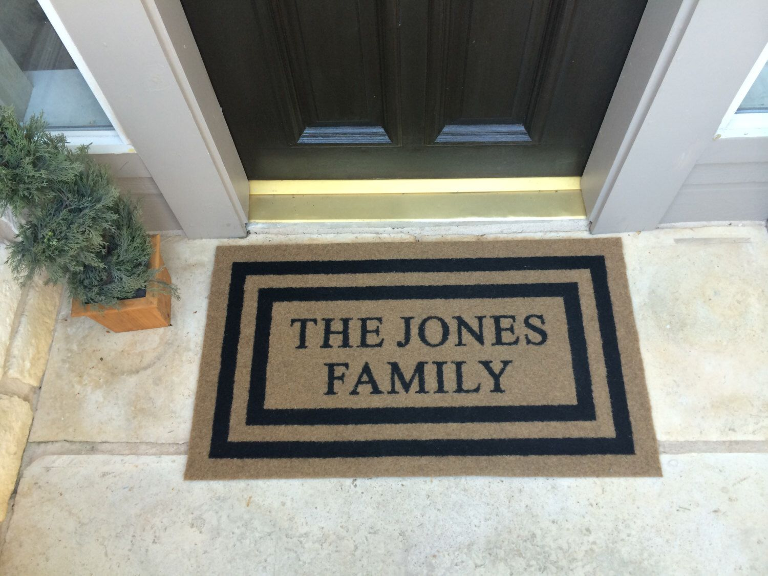 The Most Elegant And Durable Door Mat On The Market Today. Our Custom Door  Mats Do Not Shred, Shed Or Fade. They Are All Weather And Resist Mildew.