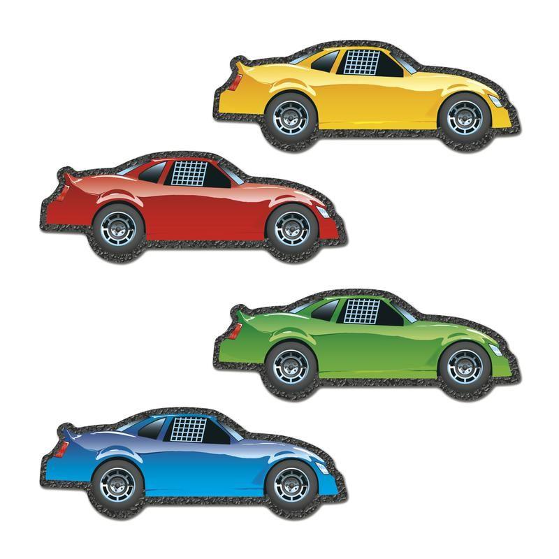Carson Dellosa Race Cars Cut-Outs 120117