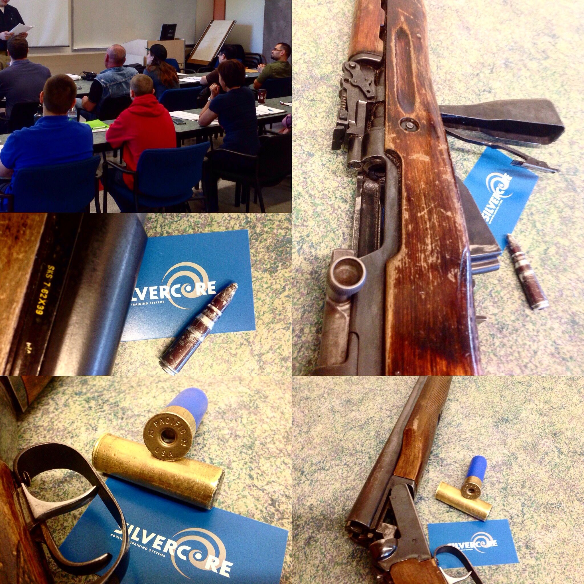 DAY 2 Of the Silvercore Canadian Firearms Safety Course