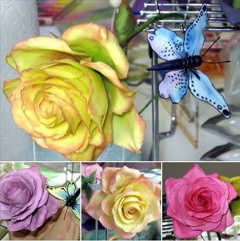 rosen aus zucker fondant pinterest rosen tortentante und fondant. Black Bedroom Furniture Sets. Home Design Ideas