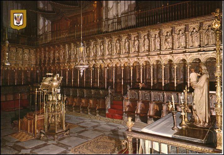 Segundo Tercio Del Xvi Alonso Berruguete Y Sillería Del Coro De La Catedral De Toledo Toledo Renacimiento Italiano Arte Del Renacimiento