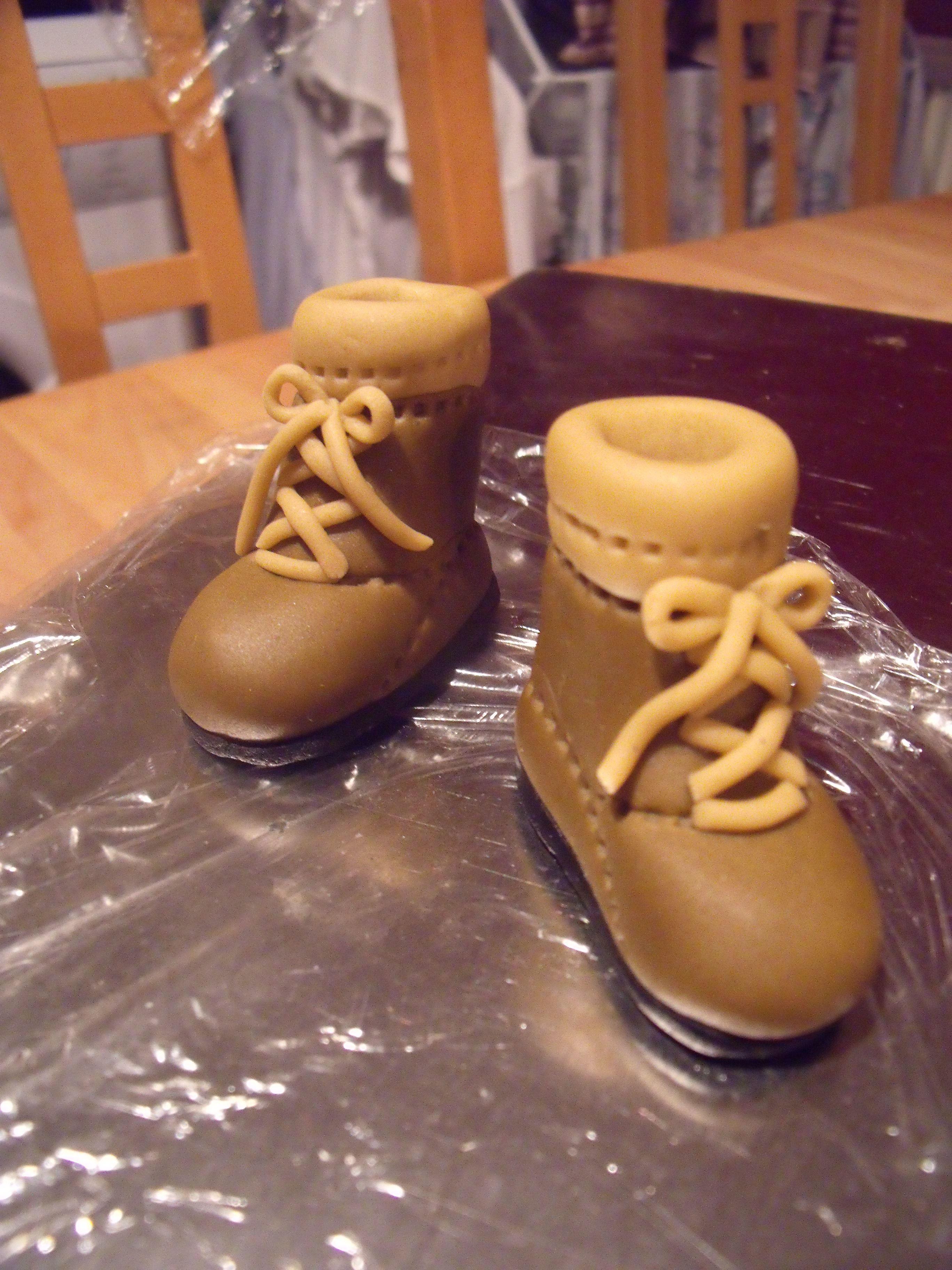 Hiking Boot Cake | Walking cake | Kuchen, Motivtorten