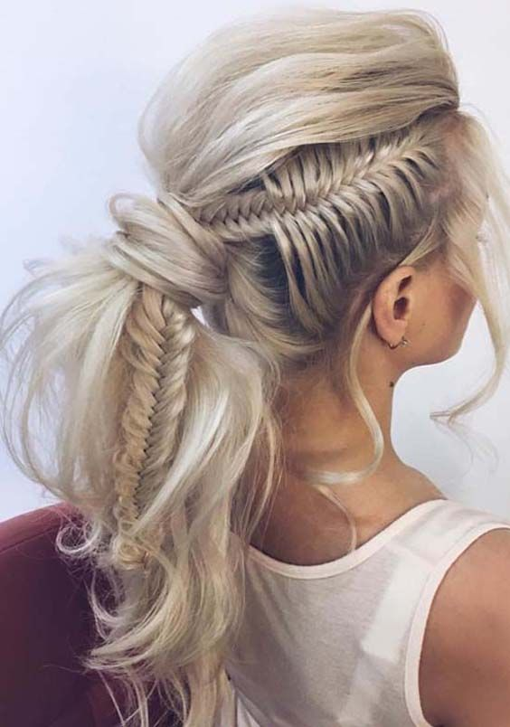 30 Gorgeous Fishtail Braids 2018 To Inspire You Hair Lengths Bohemian Hairstyles Cool Braid Hairstyles
