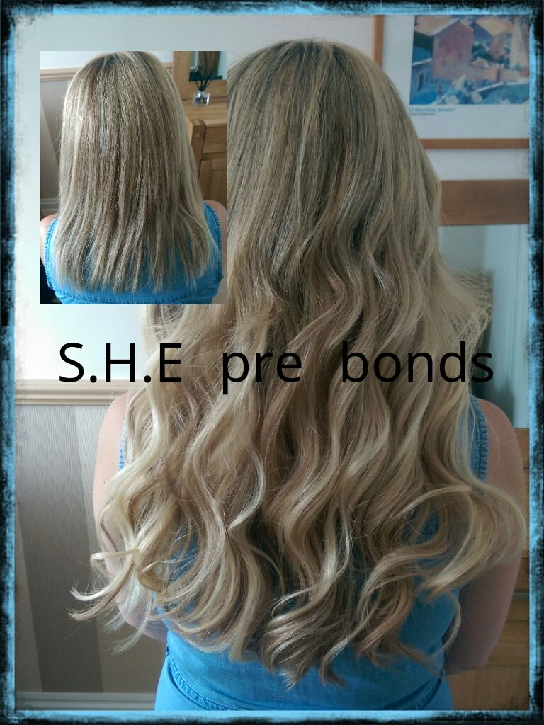 Pre Bonded Hair Extensions Before And After Things I Wish I Could