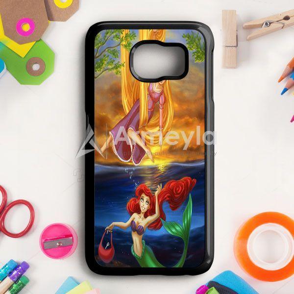 Rapunzel And Ariel Samsung Galaxy S6 Edge Case   armeyla.com