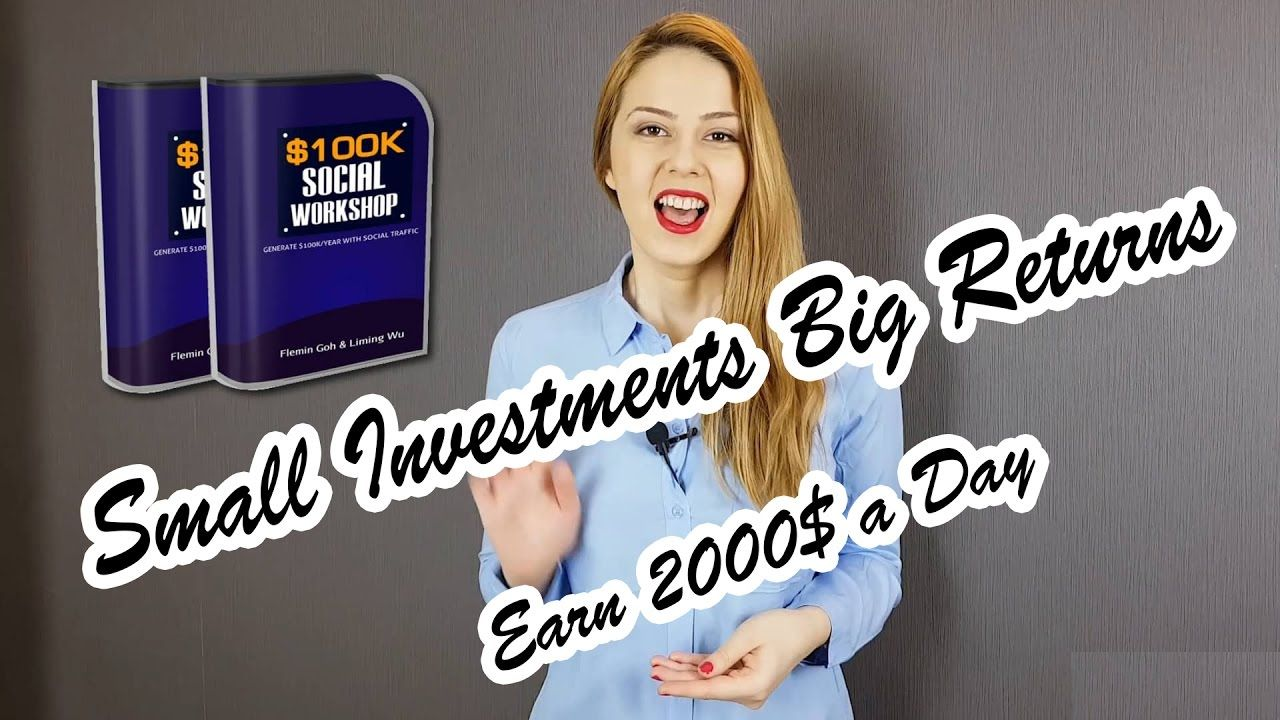 #Small #Investments #big #returns #Earn $2k a #Day