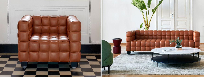 sessel und sofa kubus von wittmann m belklassiker pinterest. Black Bedroom Furniture Sets. Home Design Ideas