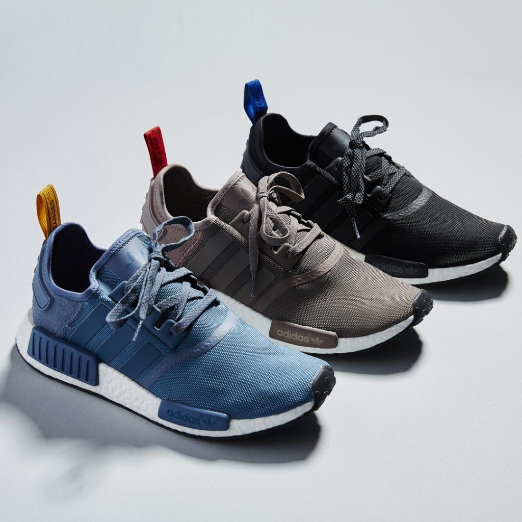 182040d13 MIDNIGHT ONLINE Adidas NMD R1 Black   Earth   Tech Ink Credit   PacSun