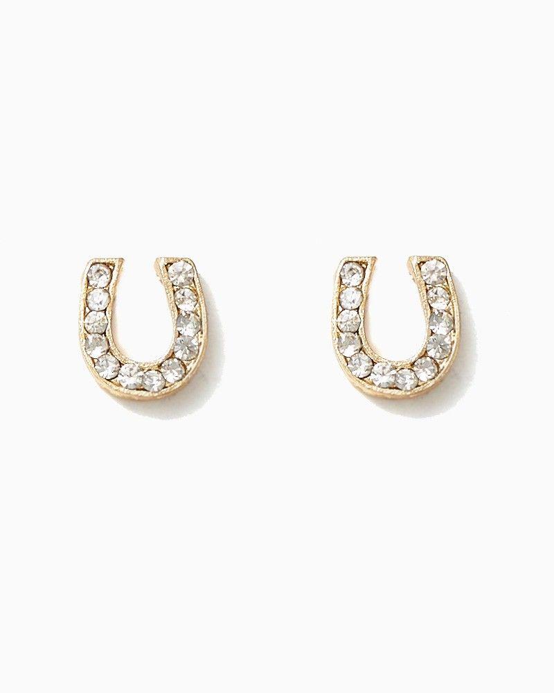 a67e99532 charming charlie | Lucky Horseshoe Earrings | UPC: 410007003711  #charmingcharlie