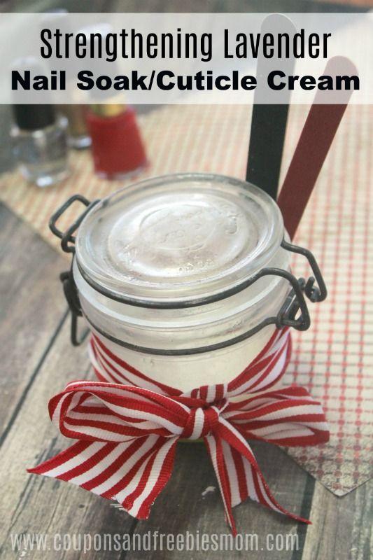 Diy strengthening lavender nail soak and cuticle cream easy diy strengthening lavender nail soak and cuticle cream easy homemade christmas gift solutioingenieria Gallery