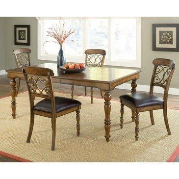Hillsdale Furniture Dining Room Bergamo Set