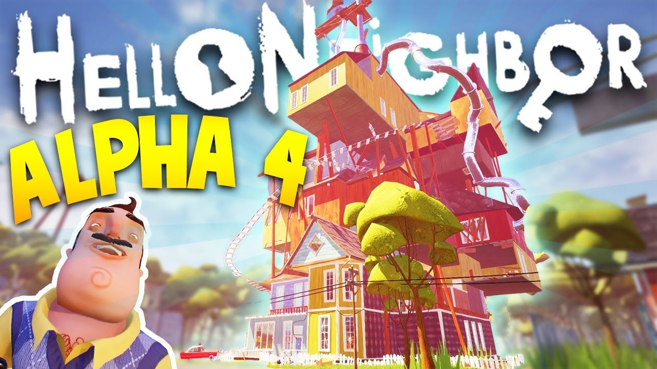 Download Hello Neighbor Alpha 4 free pc game the game is