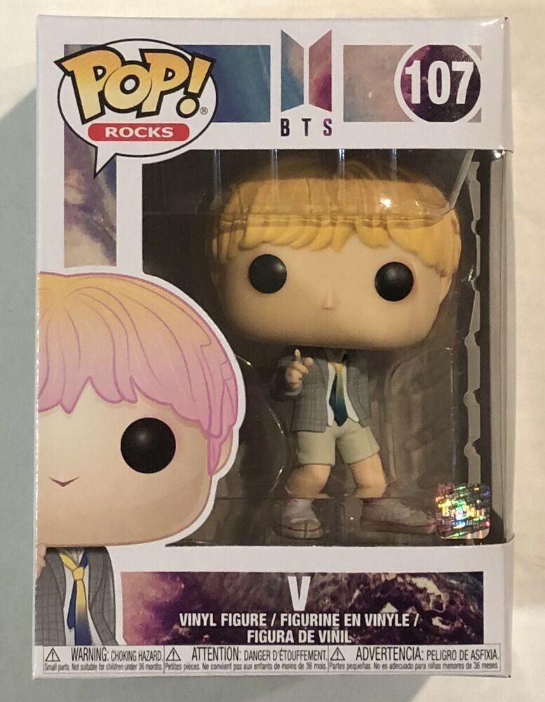 Funko Pop Rocks Bts V 107 W Protector Afflink Contains Affiliate Links When You Click On Links To Various Merchants On This Site And Funko Pop Vinyl Figures Bts