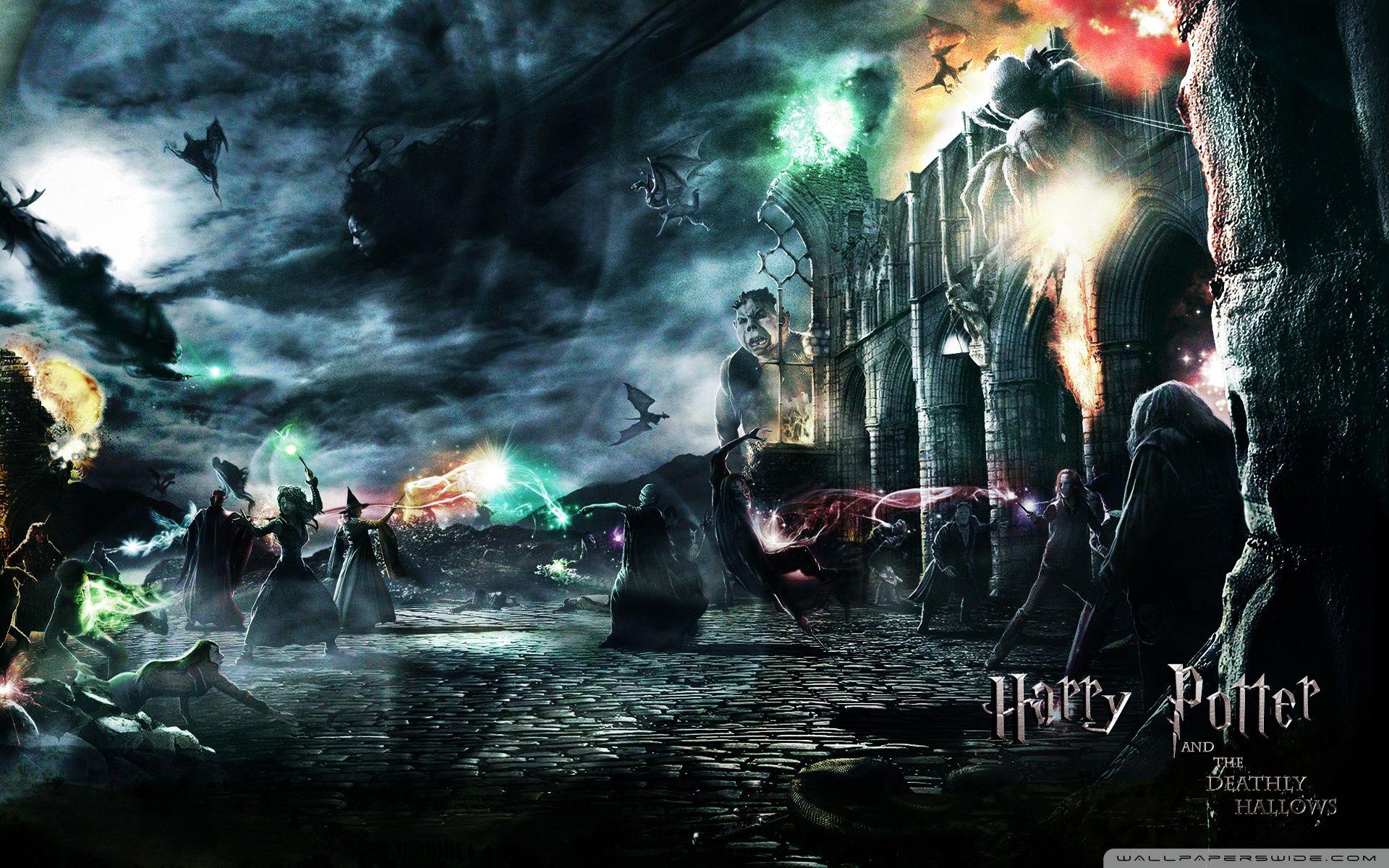 Harry Potter Wallpaper Harry Potter Harry Potter Wallpaper Deathly Hallows Wallpaper Harry Potter