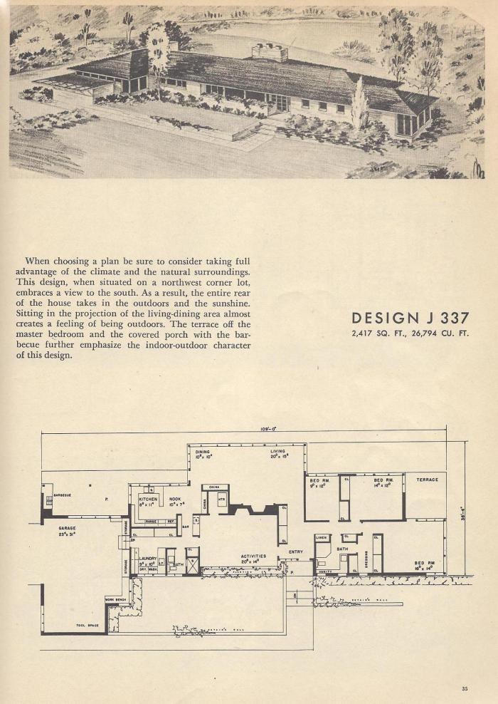 Vintage House PlansJ337   Houseplans   Vintage house plans ...