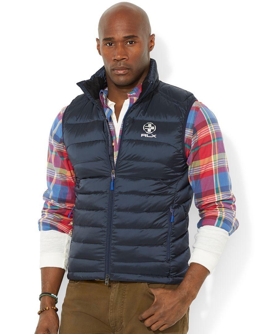 Big Rlx Ralph Down Lauren Explorer Polo And Packable Vest Tall xQCrBedoW