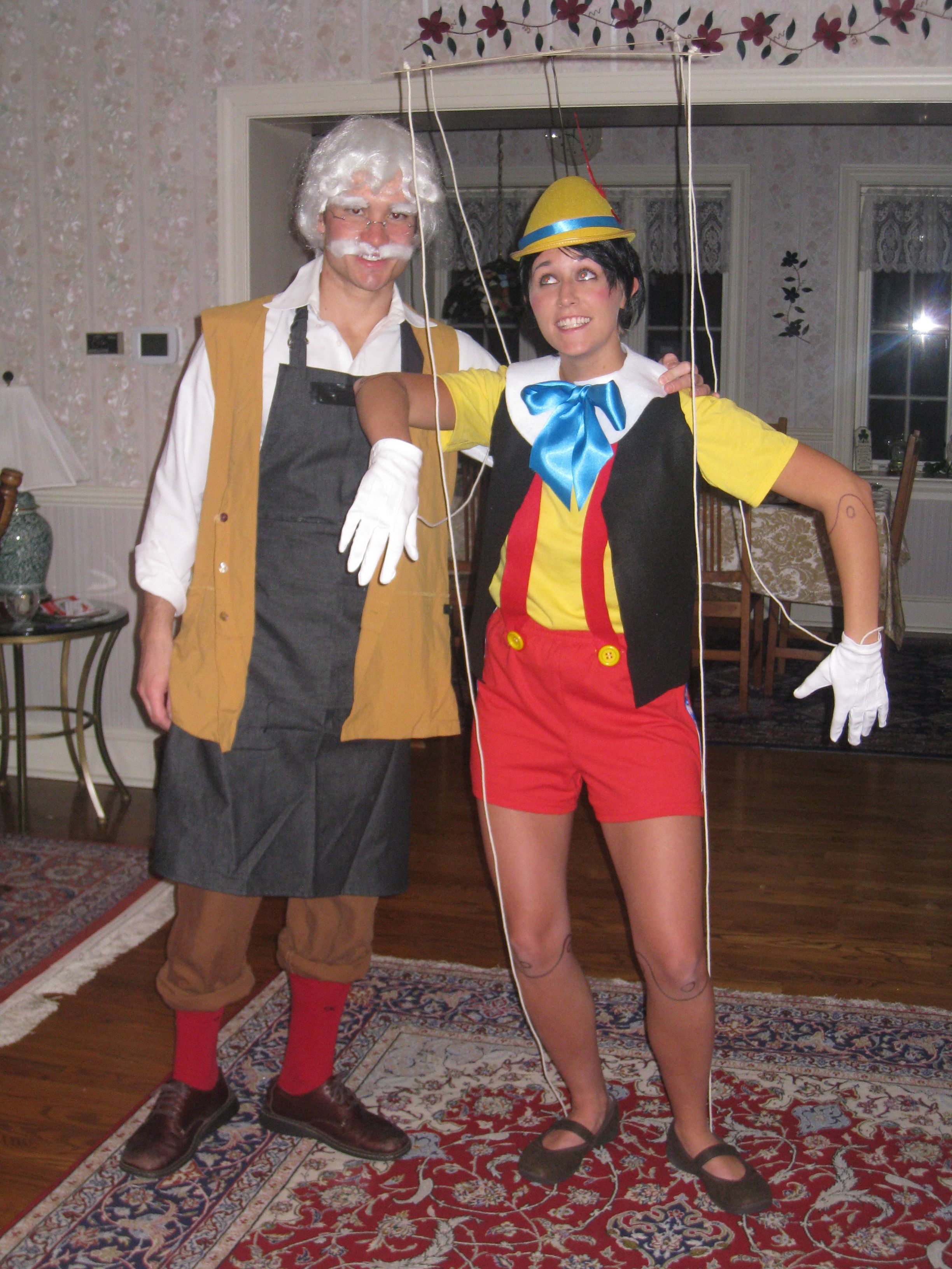 Pinocchio and Gepetto | My costumes | Pinterest | Pinocchio and ...