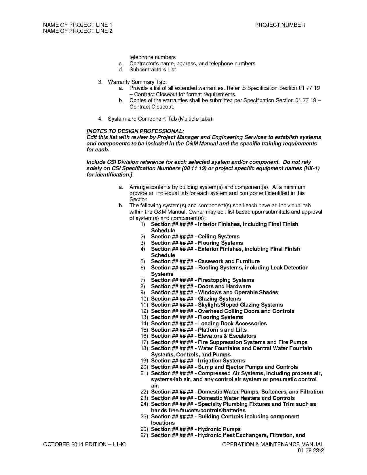 Hvac Contract Contract Template Contract Hvac