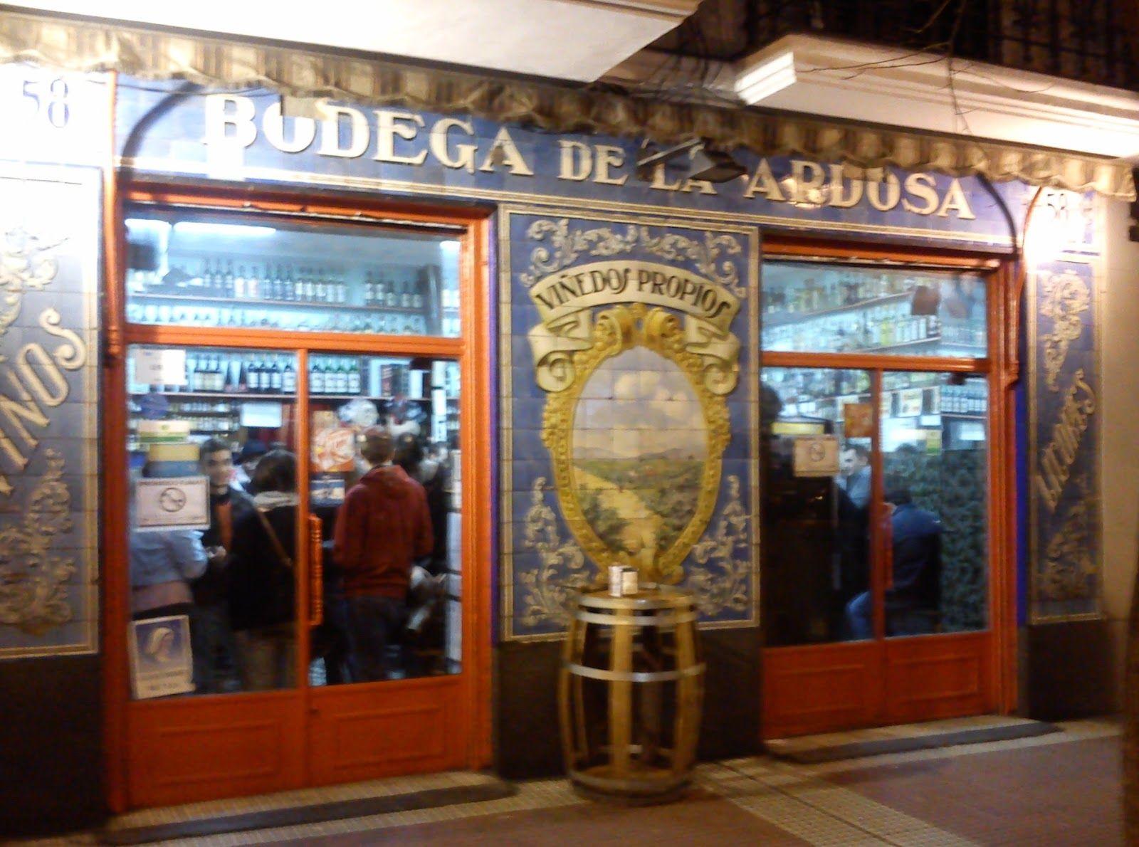 La Bodega De La Ardosa Esta En La Calle Santa Engracia 70 De Madrid
