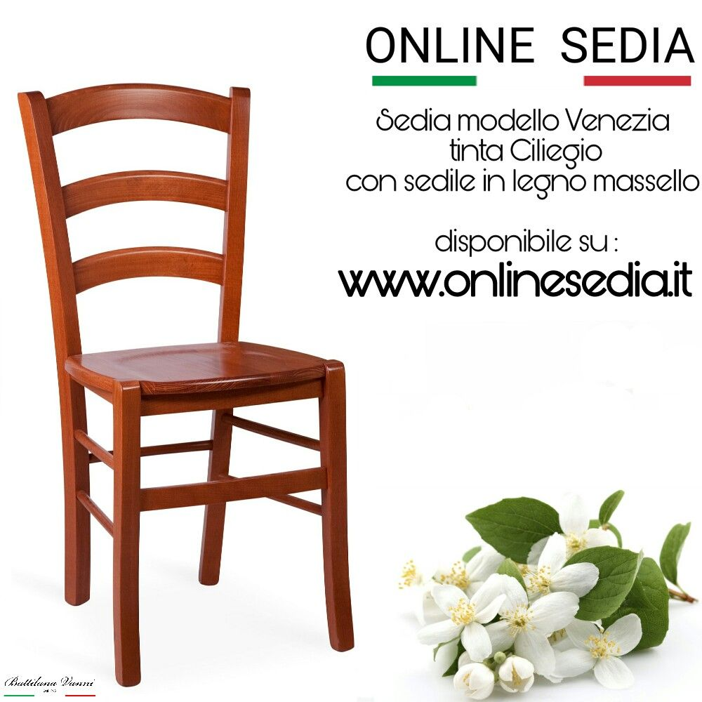 Sedia in legno venezia | Sedie, Sedia legno, Legno