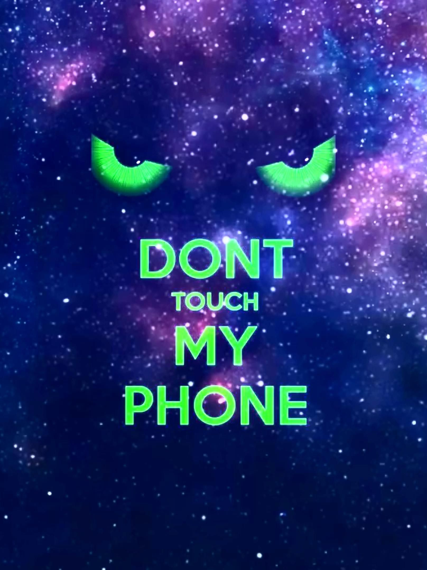 Don T Touch Video Dont Touch My Phone Wallpapers Cute Wallpaper For Phone Iphone Wallpaper Sky