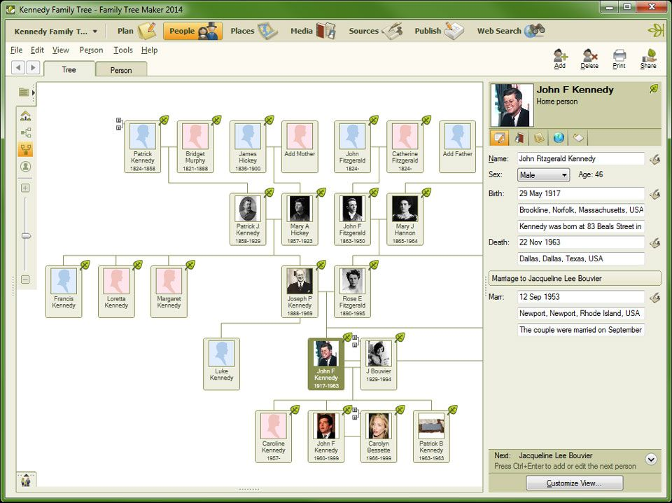 Family Tree Maker Software Provides A Way Of Producing A