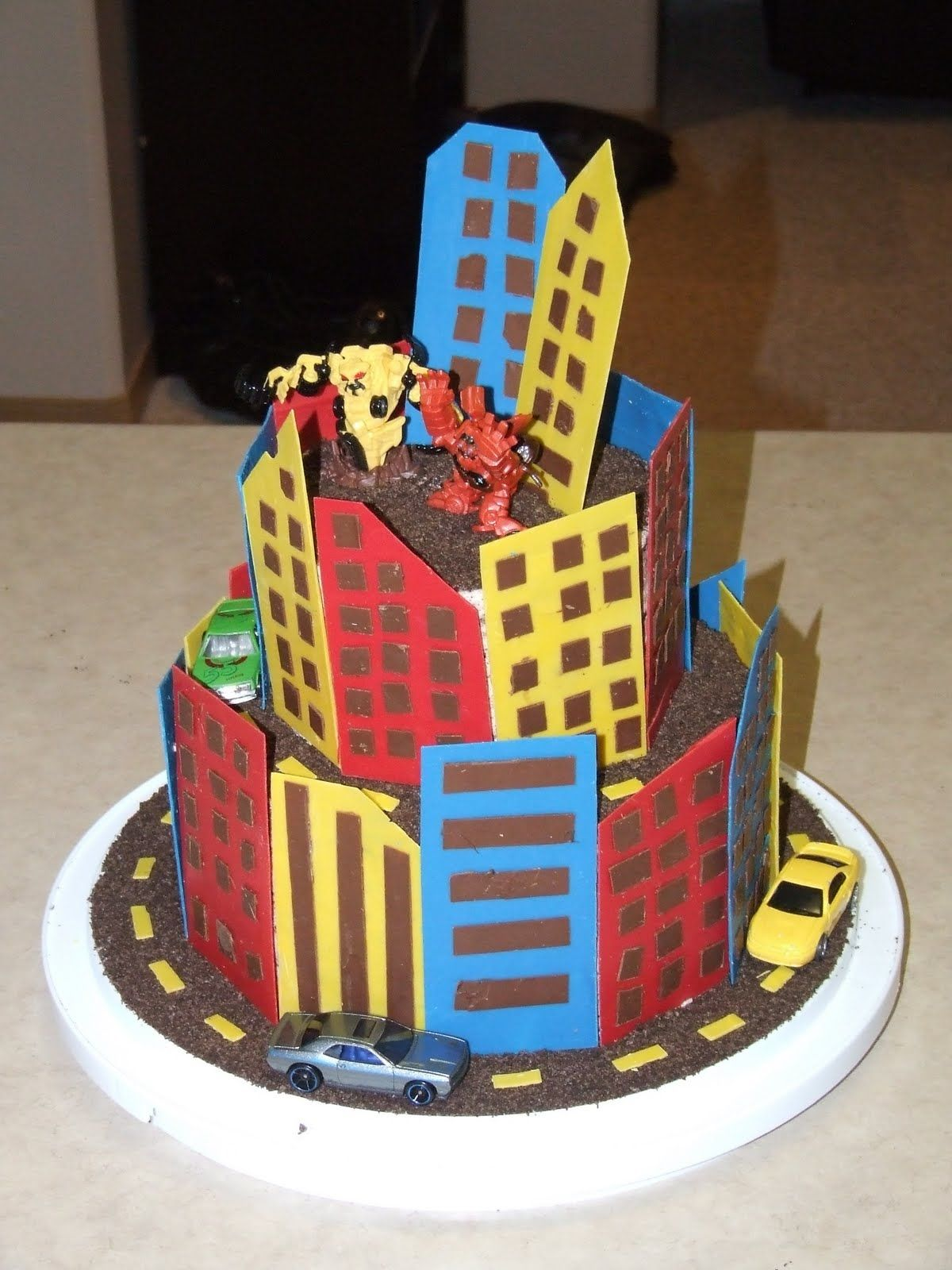 Love Transformers And Desperately Wanted A Transformer S Cake The