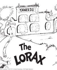 Lorax Coloring Page | Literacy | Pinterest | Lorax, Activities and ...