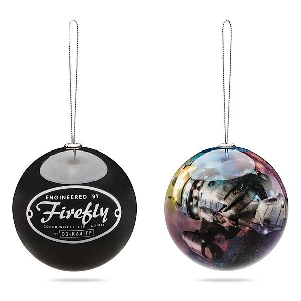 Hang Firefly Ornaments to Decorate Your Tree with Browncoat Flair - Hang Firefly Ornaments To Decorate Your Tree With Browncoat Flair