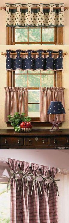 Шитье Decoracion para mi cosina Pinterest Cortinas, Cocinas y - cortinas decoracion