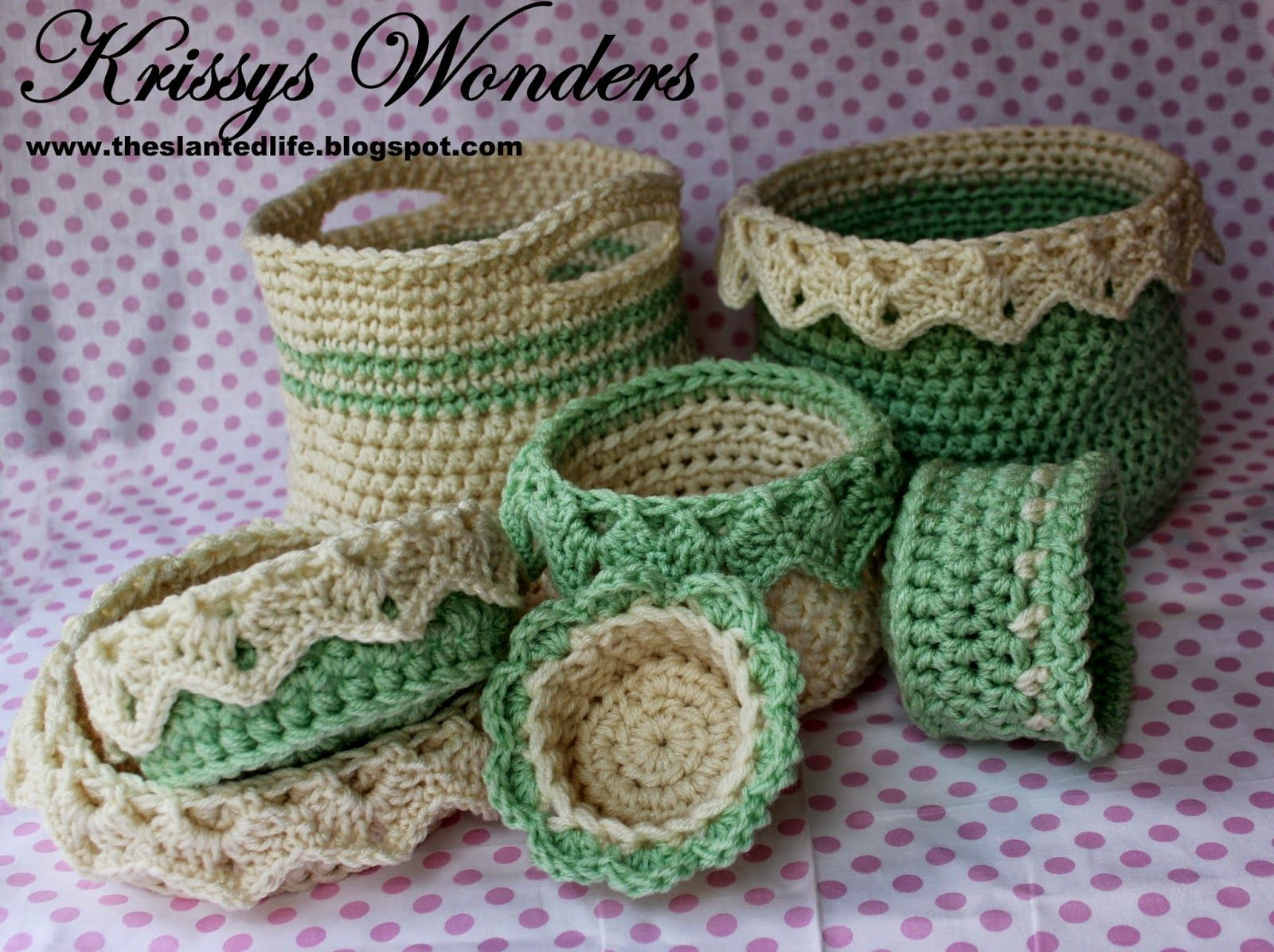 Baskets the slanted life free crochet patterns crochet baskets baskets the slanted life free crochet patterns negle Choice Image