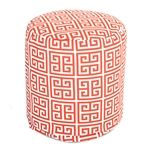 Outdoor Pouf Orange Towers - Majestic Home Goods