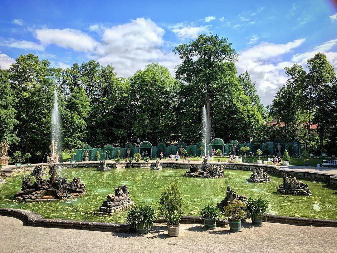 Wasserspiele In Der Eremitage Immer Zur Vollen Stunde Fountain Show In The Hermitage In Bayreuth Every Hour To The Hour Enj Bayreuth Hermitage Photography