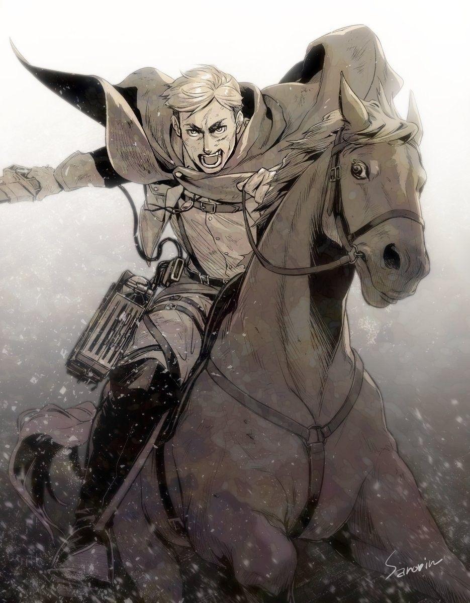 Erwin Smith Attack On Titan In 2020 Attack On Titan Anime Attack On Titan Fanart Attack On Titan Season