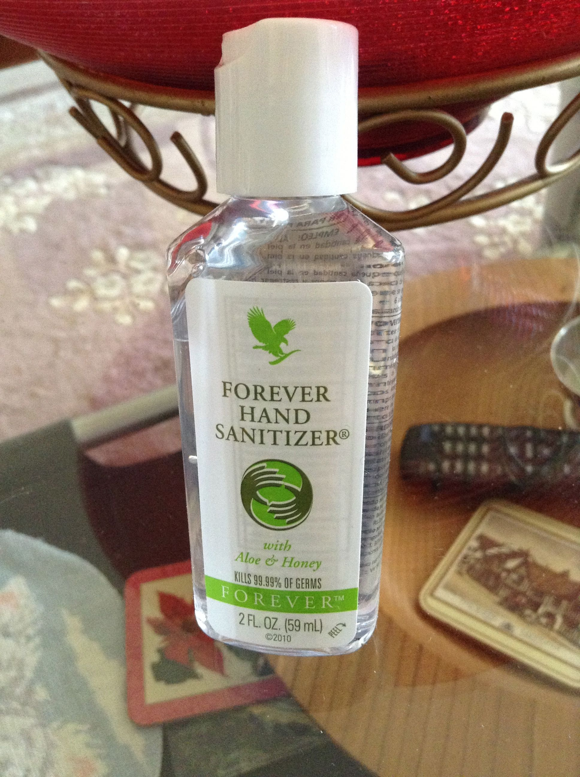 Hand Sanatizer Contains Aloe And Homey Designed To Kill 99 99 Of