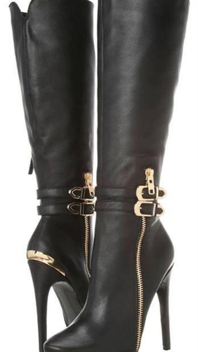 Pin by Nastia Pirilenka on Boots | Boots, High heels, Heeled