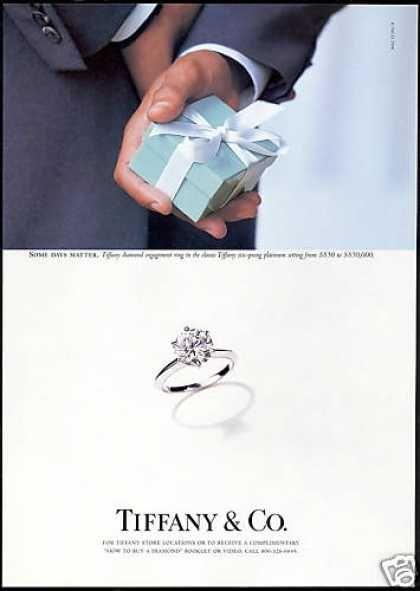 Old Tiffany Setting Ad