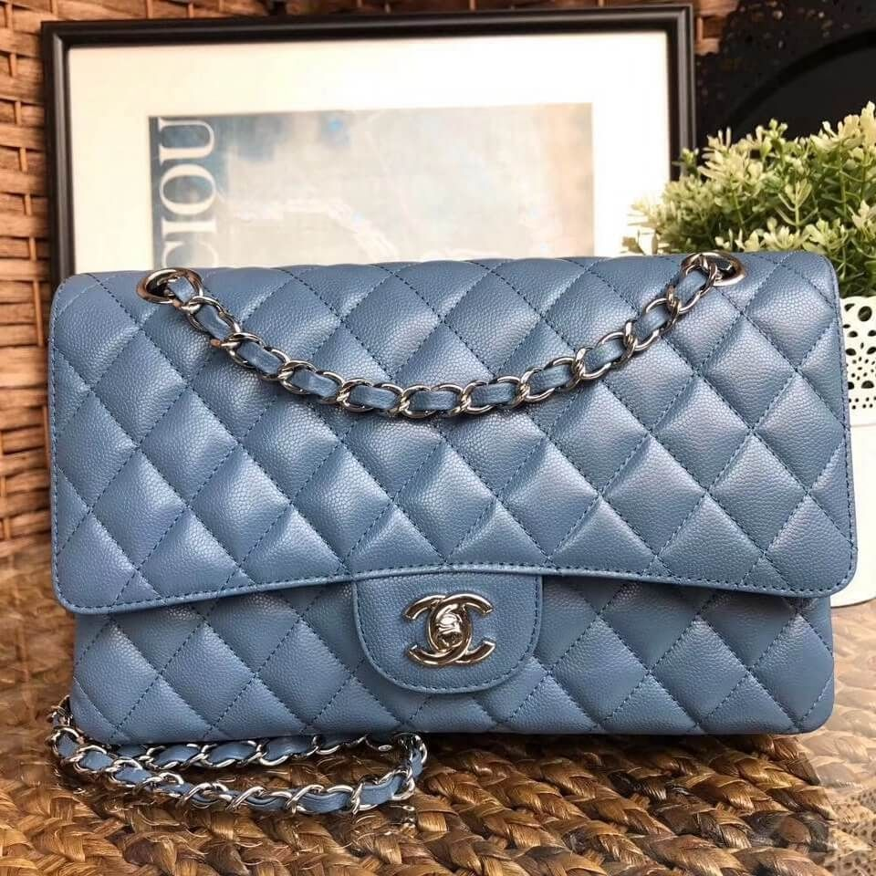 Chanel Medium Classic Flap Bag 100 Authentic 80 Off Dengan Gambar