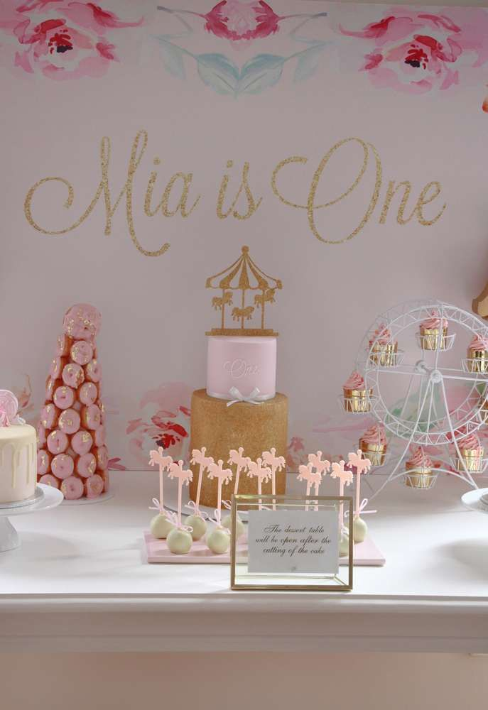 Candice Mia Cake Party 1