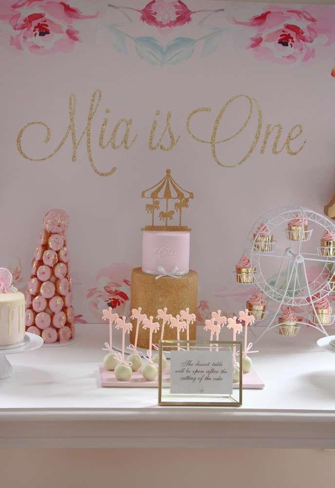 Candice Mia Cake Party 1