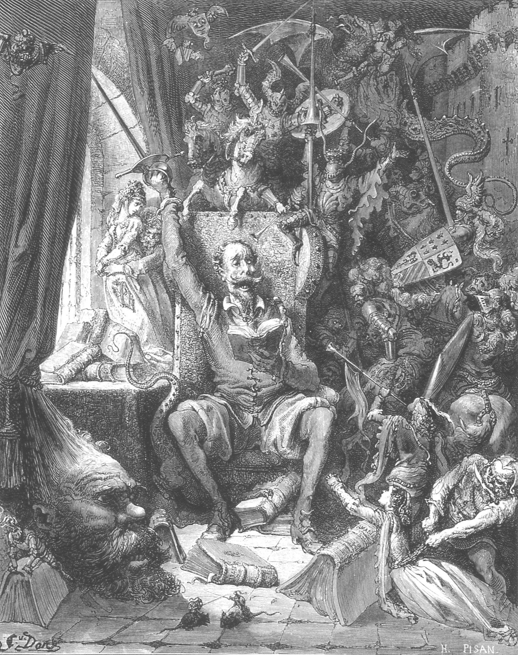 Gustave Dore 1863 Con Imagenes Gustave Dore Quijote De La