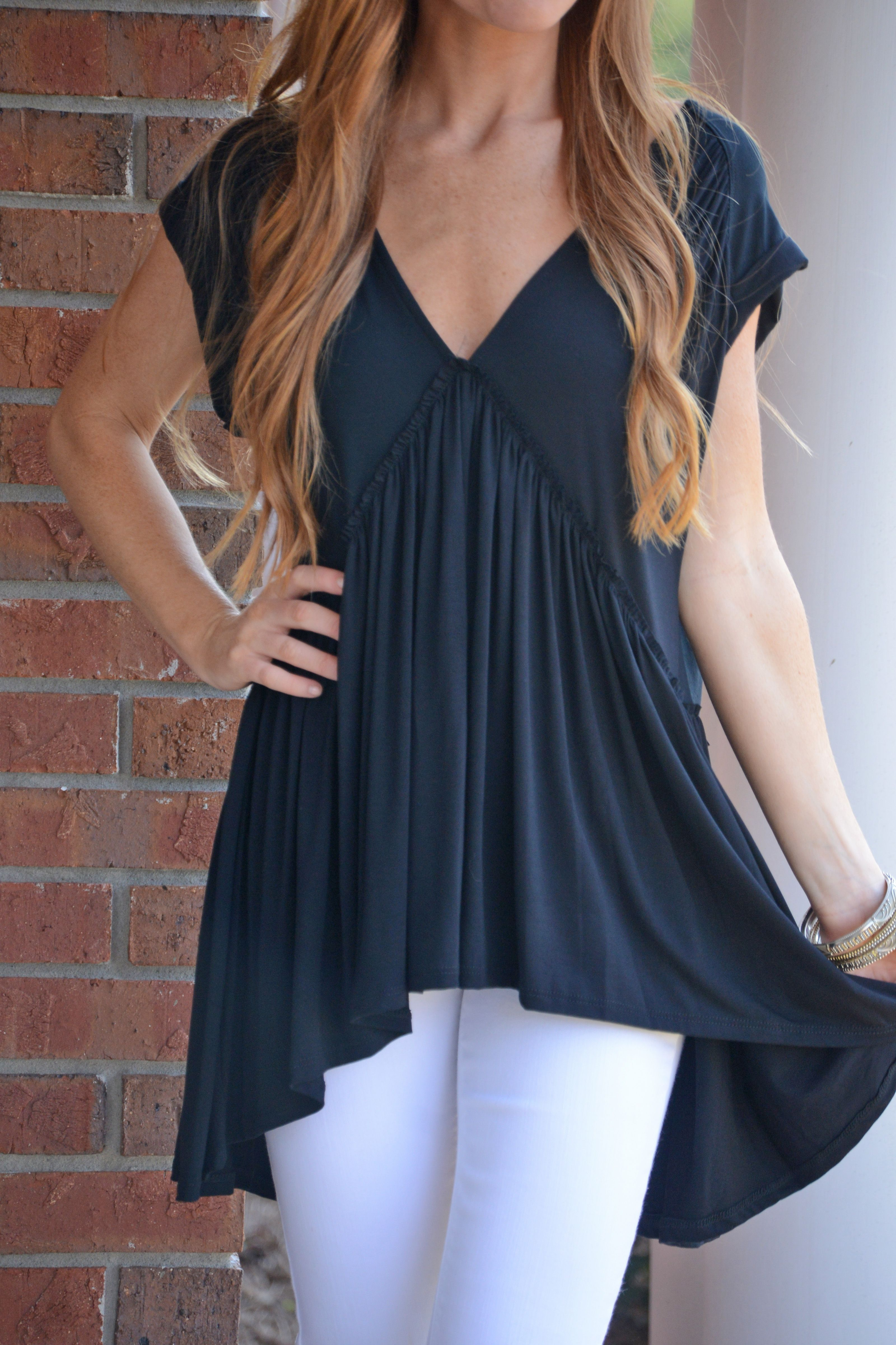 fcf73e69aff81 This babydoll top is so simple