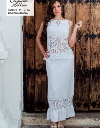 bb1710b93 vestidos bordados de cartago - Buscar con Google