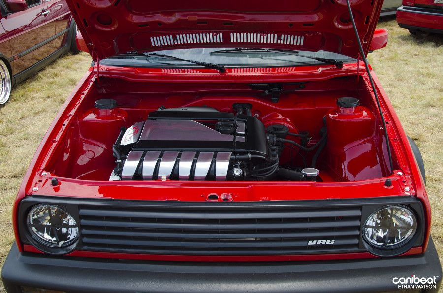 Mk2 VW Golf VR6    LOVE shaved engine bays  | My favourite