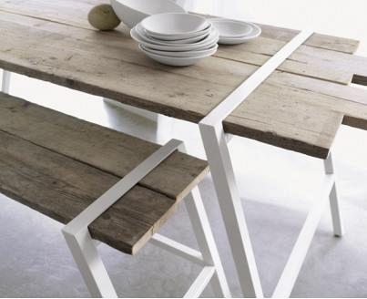 Table en bois pour le jardin | Gardens