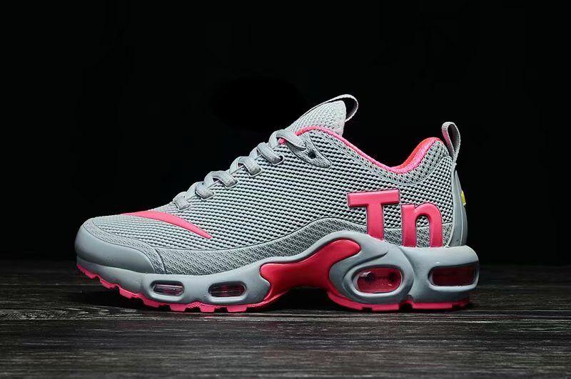 on sale 520e3 9d39c NIKE MERCURIAL TN Air Max 2018 KPU Grey Pink Women Running Shoes in ...