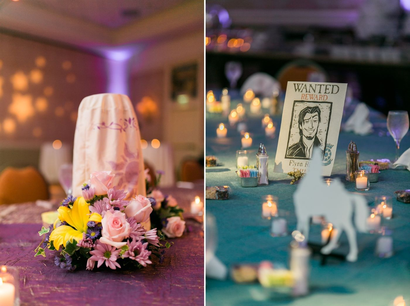 tangled wedding at disney world in orlando fl | rapunzel and