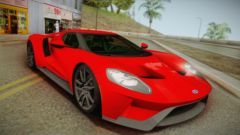 Ford Gt  No Stripe Para Gta San Andreas
